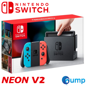 Nintendo Switch V2 Neon Red Console