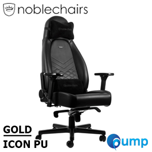 Noblechairs ICON PU - Black/Gold