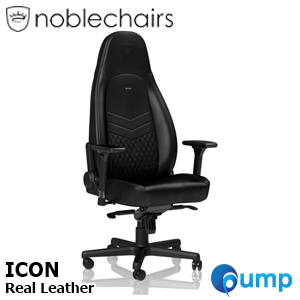 Noblechairs ICON Real Leather - Black