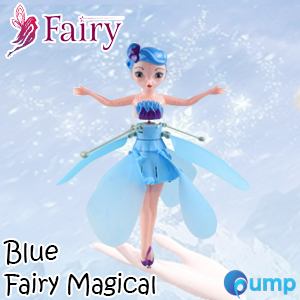 Fairy Magical (Blue) - Flying Suspended Aircraft Control Dolls Toys