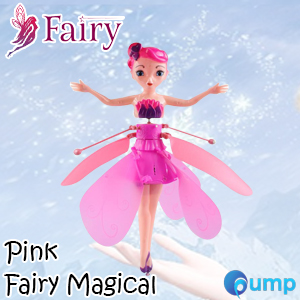 Fairy Magical (Pink) - Flying Suspended Aircraft Control Dolls Toys