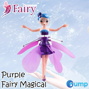 Fairy Magical (Purple) - Flying Suspended Aircraft Control Dolls Toys