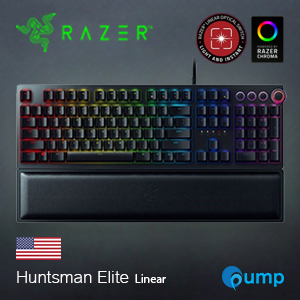 Razer Huntsman Elite Opto-Mechanical Linear Switch Keyboard - ENG / Free Mouse Basilisk Ultimate