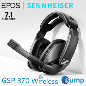 Sennheiser GSP 370 Wireless 7.1 Sourround Sound Gaming Headset
