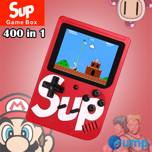 Sup Game Box 400 in 1 Consoles 8-Bit Retro & Classic & Nostalgic - Red