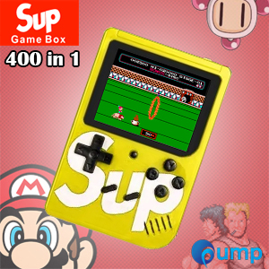 Sup Game Box 400 in 1 Consoles 8-Bit Retro & Classic & Nostalgic - Yellow