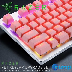 Razer PBT KEYCAP UPGRADE Set for Mechanical And Optical Keyboards - Pink