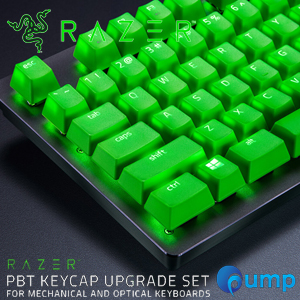 Razer PBT KEYCAP UPGRADE Set for Mechanical And Optical Keyboards - Green