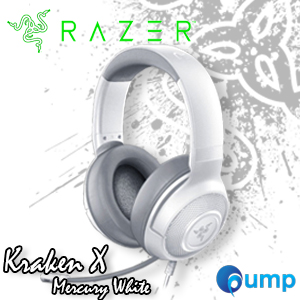 Razer Kraken X Mercury White 7.1 Surround Sound Gaming Headset