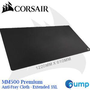 Corsair MM500 Premium Anti-Fray Cloth Gaming Mouse Pad - Extended 3XL