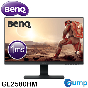 Benq GL2580HM 24.5 Inch With Full HD 1080p 1ms Eye-care Gaming Monitor