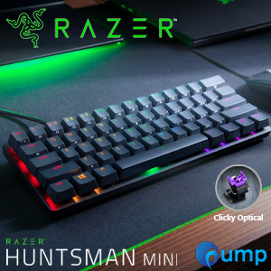 Razer Huntsman Mini RGB Clicky Optical Switch Gaming Keyboard - US