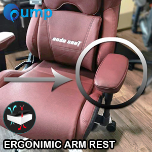 G-Ergonomic Arm Rest For Gaming Chair - Red