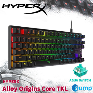 Hyperx Alloy Origins CORE TKL Mechanical Gaming Keyboard - Aqua SWSwitch
