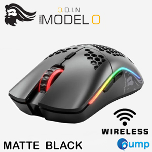 Glorious Model O Wireless Regular Matte Gaming Mouse - Black