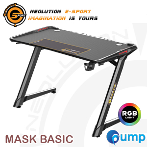 Neolution E-Sport Mask Basic Gaming RGB Desk - 1.2m