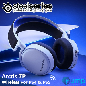 SteelSeries Arctis 7P Wireless For PS4/PS5 Gaming Headset - White