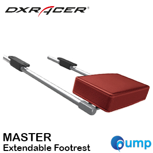DXRacer MASTER Extendable Footrest - Red