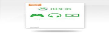 เติมเงินเกมค่าย  Xbox Live Value Card