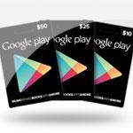 เติมเงินเกมค่าย  Google Play Gift Card