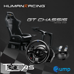(Promotion Complete Set) HumanRacing GT Chassis (Black) + T300rs