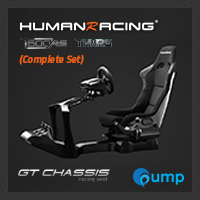 (Promotion Complete Set) HumanRacing GT Chassis (Black) + T500RS + TH8A
