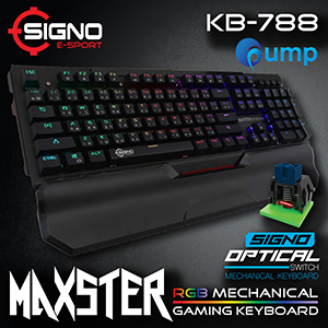 Signo E-Sport KB-788 Maxster RGB Gaming Keyboard