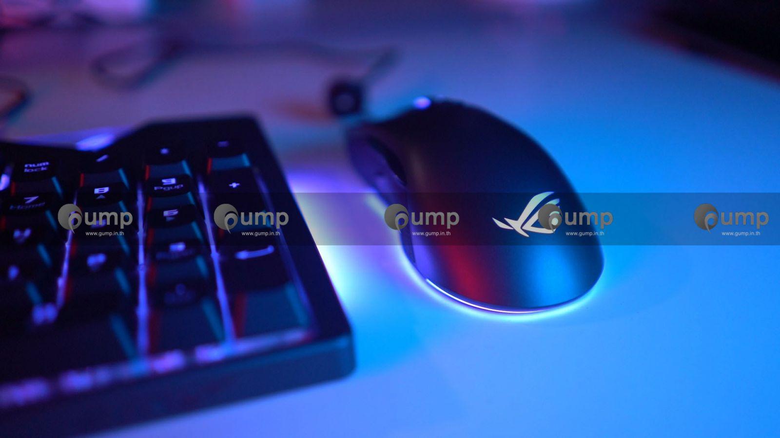 รีวิว-Review] Asus Gladius 2 & Strix Flare RGB - GUMP IN TH