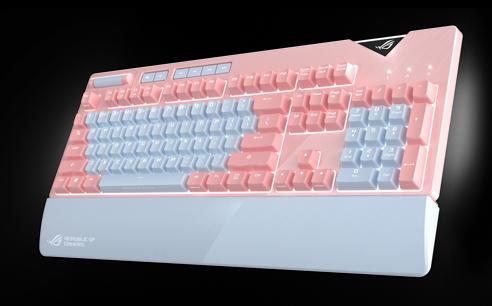 ขาย Asus ROG Strix Flare PNK LTD RGB Mechanical Gaming