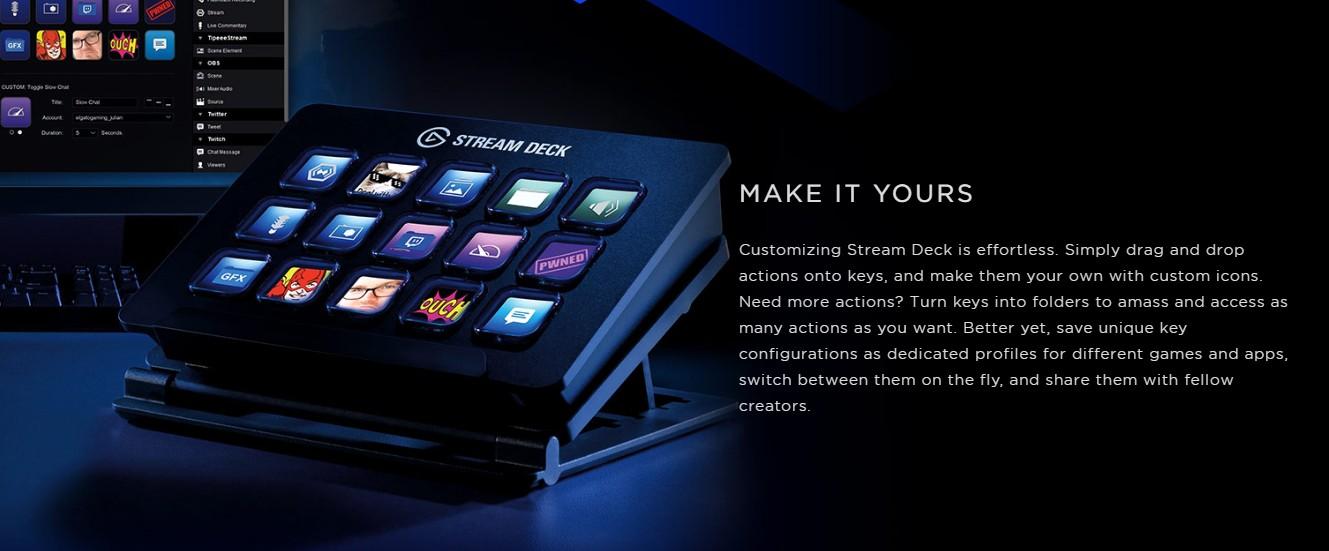 ขาย Promotion - Elgato Stream Deck - อุปกรรณ์สตรีมมิ่ง ราคา