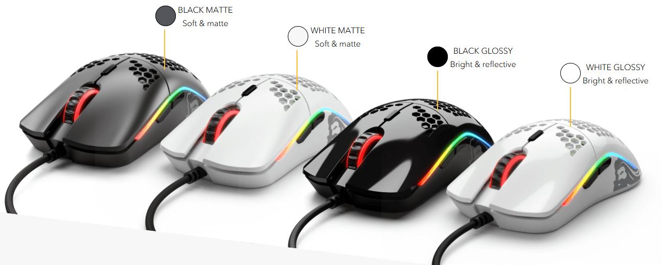 ขาย Glorious Model O Matte Black Gaming Mouse ราคา 2,190.00 บาท