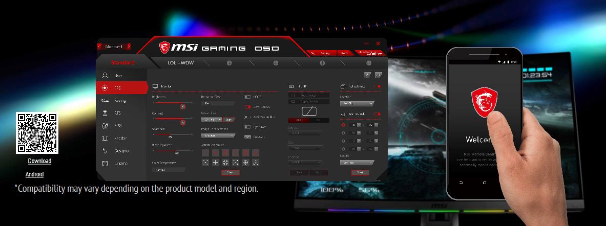 ขาย MSI Optix MPG27CQ Curved 27 Inch 1ms 144Hz AMD® Freesync Gaming