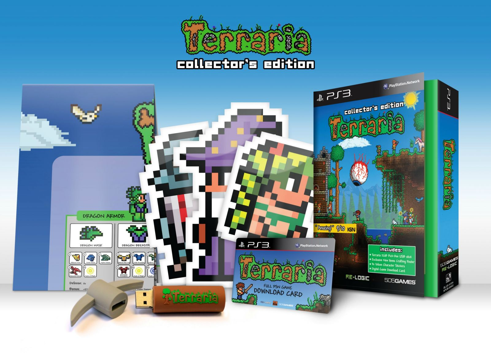 Terraria limited edition z1 ps3