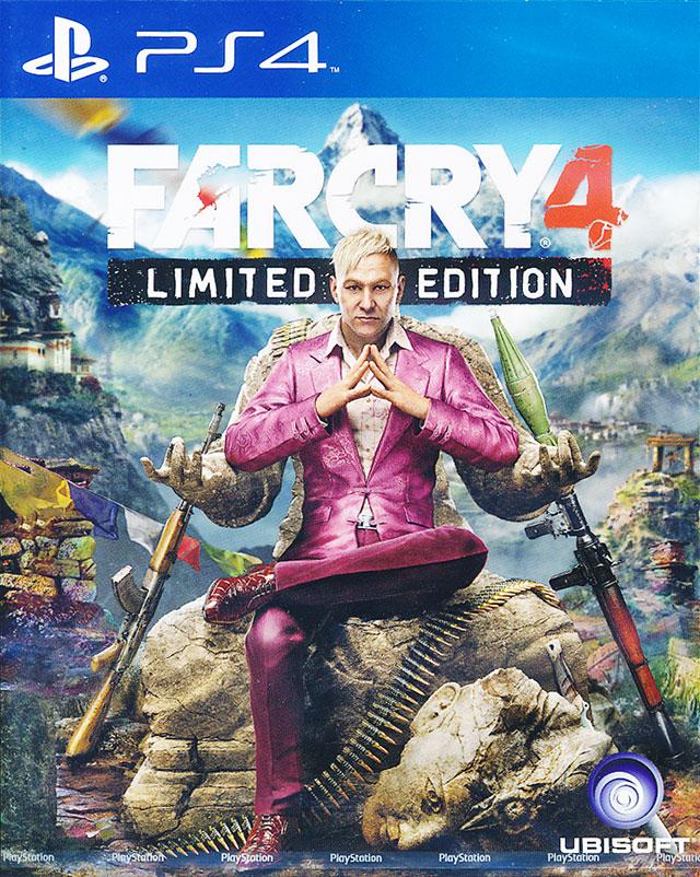 จำหน่าย-ขาย FAR CRY 4 Limited Edition - [PS4] Z3 ราคา ...