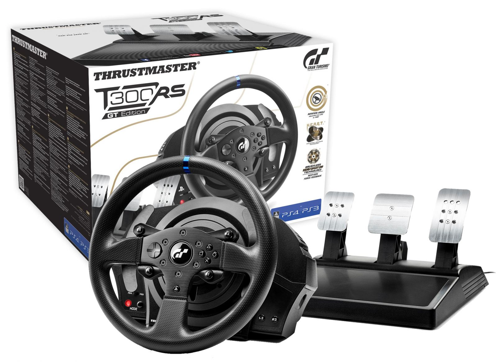 thrustmaster t300 rs gt edition racing wheel 21. Black Bedroom Furniture Sets. Home Design Ideas