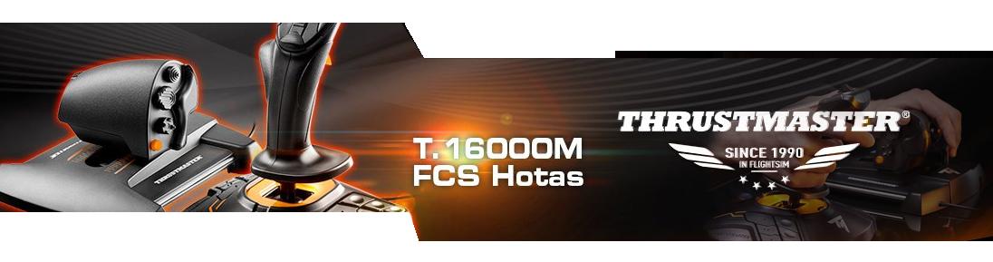 ขาย Thrustmaster T 16000M FCS FLIGHT PACK ราคา 9,190 00 บาท
