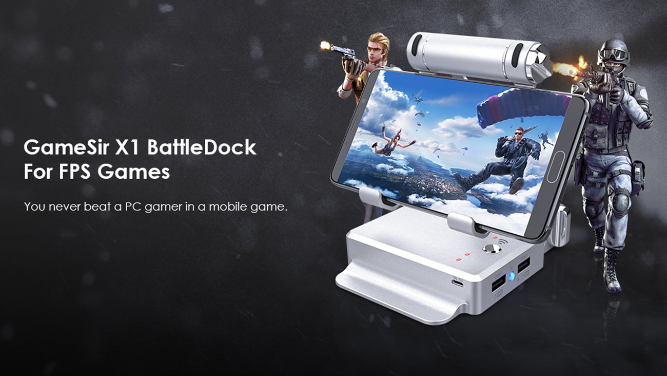 ขาย Gamesir X1 Bluetooth BatttleDock Pubg Game Adaptor ราคา