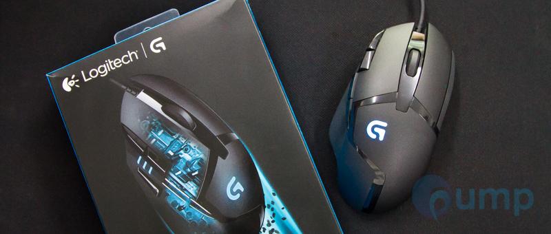 รีวิว-Review] Logitech G402 Hyperion Fury FPS Gaming Mouse